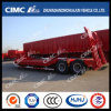 Cimc 12.5m Concave-Beam Lowbed/Lowboy Semi-Trailer Without Cover on Tire