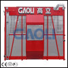 Ce Approved Construction Hoist Lift with Double Cage