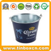 Tin Barrel Ice Metal Buckets for Tin Beer Pail