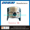 5K Spare Parts Vehicle Cheap Piston for Toyota 5K/5s/5r/5A/5af/5afe/5L