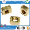 Plain Finish Brass Square Nut