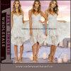 Newest Design Gradient Ruffled Evening Maxi Long Dress (60322)