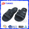 Simple Whole Black with Logo EVA Slipper for Men (TNK35641)