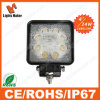 Lml-0524 24W Square 4'' Heavy Duty Machine LED Work Light ATV, Forklift, Mining Offroad Light SUV Boat Truck LED Work Light Truck