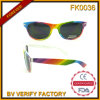 Fk0036 Rainbow Color Sunglasses for Kid