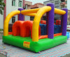 Small Indoor Vinyl Baby Inflatable Bouncy Trampoline with Slides