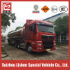 HOWO Truck Tractor Trailer Fuel Tanker 50000L 50 Cbm Partitions