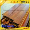 China Manufacturer Wood Grain Aluminium Extrusion Profile