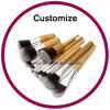 Customized Eco Tools Makeup Brushes