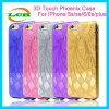 Electroplating Laser Mark Fire Phoenix TPU Case for iPhone 7/6s/6
