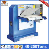 Hot Sale Plane Hydraulic Leather Belt Press Embossing Machine (hg-b120t)