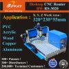 Hpgl G-Code Wood Products Engraver Carver Samll Mini Router Desktop CNC