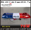 Police LED Strobe Lights with 100W Speaker and Siren