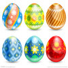 High Quality White Plastic Foam Easter Eggs