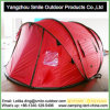 Korea Market 4 Person Double Layer Camping Pop up Tent