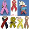 Pink Ribbon Lapel Pin (ASNY-JL-pin badge-13032101)