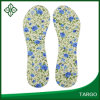 Footcare Flower Printing PU Gel Insole Adhesive Shoe Insole