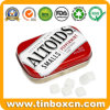 0.37oz/10.5g Rectangular Mini Small Sugar Free Candy Mints Tin Can