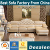 Royal Style L Shape Leather Sofa, New Classic Home Furniture (6020)