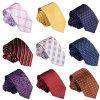 Wholesale Korean Silk Casual Jacquard Weave Narrow Ties for Shirts