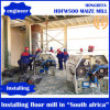 Maize Mill Machine Installed in South Africa 500t/24h