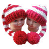Hand Crochet Hat Baby Shower Gift POM POM Tail Hat
