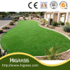 Comfortable Artificial Garden Grass Synthetic Turf 35mm Pile Height