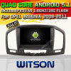 Witson Android 5.1 Car DVD GPS for Opel Insignia 2008-2011 with Chipset 1080P 16g ROM WiFi 3G Internet DVR Support (A5753)