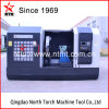 Professional Facing CNC Lathe Machine for Turning Flange, Aluminum Mold, Propeller (CK64160)
