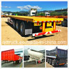 Tri-Axles 40FT long vehicles, flatbed trailer, Container Trailer, semi trailer