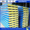Rock Wool Sandwich Roof Panel Made of PPGI Steel Sheet for Prefab Home