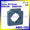 Current Transformer Abo-100 Ring Type Current Transformer 800/5A to 3000/5A AC Current Sensor