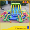 Dinosaur Giant Inflatable Water Slide with Big Inflatable Swimming Pool (AQ10104)