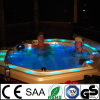Luxury Low Price Outdoor SPA Bathtub with Overflow