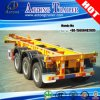 3 Axles 40FT 45FT Container Skeleton Semi Trailer for Philippines