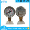40mm Inch Dial Stainless Steel Case Pressure Gauge Manometer