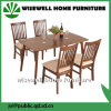 Modern Design Dining Room Furniture Wood Dining Table Set (W-DF-9037)