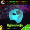 RGB Color Changing Lighted Garden Furniture LED Sofa