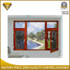 Aluminum Double Glass Window with Stainless Steel Screen (XA005)