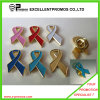 Hot Quality Custom Red Ribbon Badges, Metal Badges (EP-L8260)