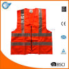 Hi Vis Reflective Safety Vest with PVC Strip and Zipper