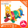 Kindergarten Plastic Toy Caterpillar Drill Holes