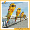 Exhibition Aluminium Portable Beach Flag Display Banner Stand