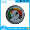 Ytn-50d Half Stainless Steel Back Type Liquid Filled Pressure Gauge with Colorful Dial Plate and Brass Connection