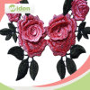 New Colar Lace Design Rose Green Leaf 3D Colar Lace