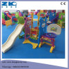 Indoor Plastic Kids Slides with Swing and Basketball