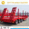 3 Axles Lowbed Semi Trailer 50-80t Cimc Low Bed Trailer Lowboy Semi Trailer