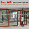 Heavy Duty Lift and Sliding Wood Aluminum Door for Missouri USA Client