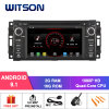 Witson Quad-Core Android 9.1 Car DVD GPS for Chrysler Jeep Dodge Mirror Link for Android Mobile+iPhone