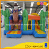 Amusement Park Cowboy Inflatable Combo for Outdoor Playground (AQ1324-12)
